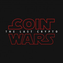 Coin Wars Crypto T-Shirt Logo